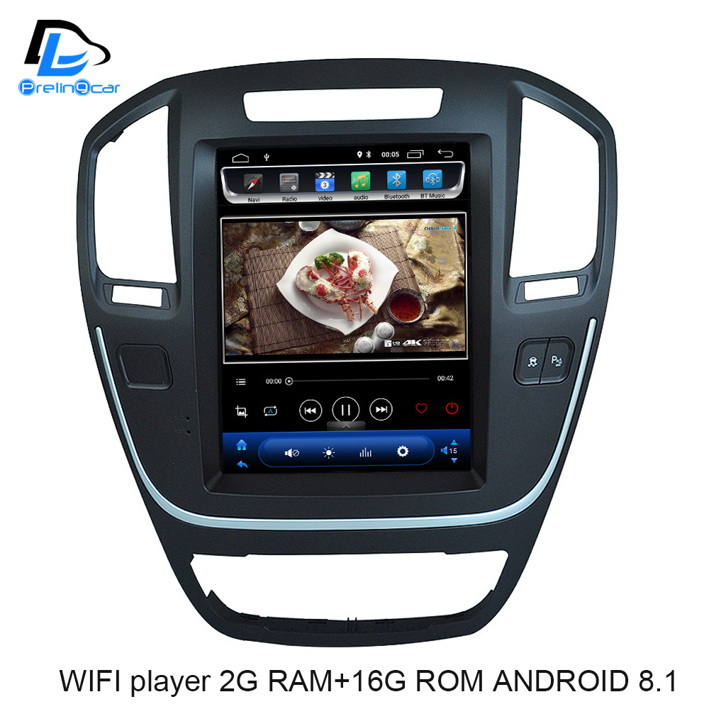 4G Vertical screen android 8 1 system car gps multimedia video radio font b player b