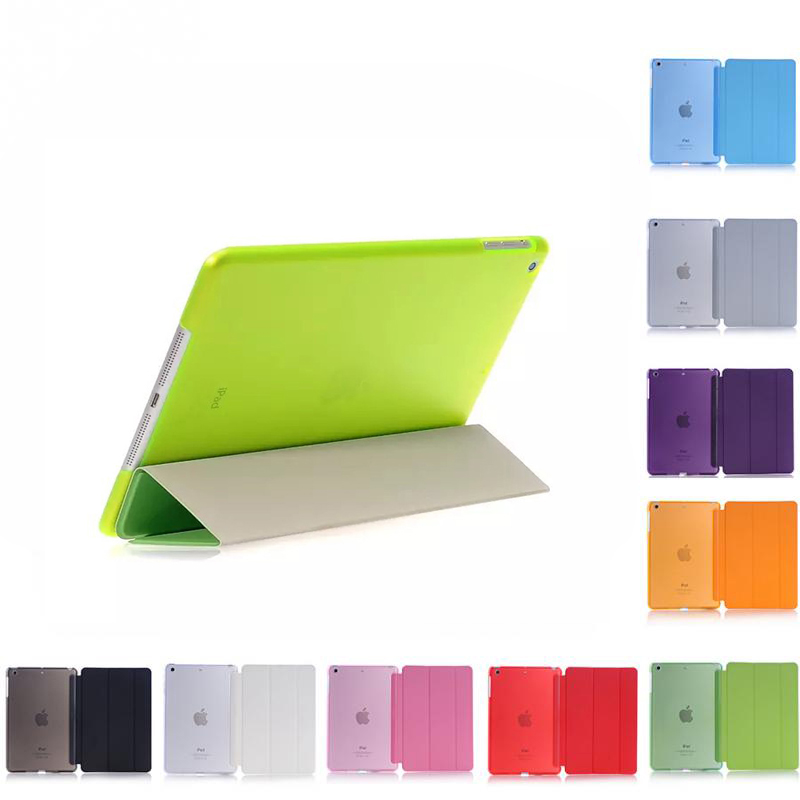 CCTHiedra For iPad Mini Simplism Series Wake Up Fold Stand Leather Case Smart Cover Protector For iPad Mini 1 2 3