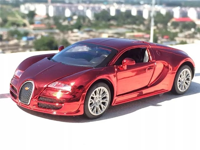 1 32 Bugatti Veyron Metal Modelo De Coche Deportivo Nino Juguete