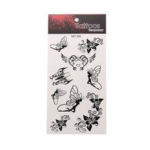 Butterfly Creative Waterproof Tattoo Sticker Unisex Body Art Tattoo Sticker Beautiful Animal Pattern Tattoo Sticker недорого