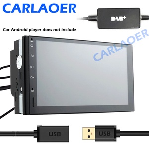 Image 2 - Universal Car DAB Plus Radio Receiver Tuner USB interface for car Android multimedia player system Digital Audio Broadcasting