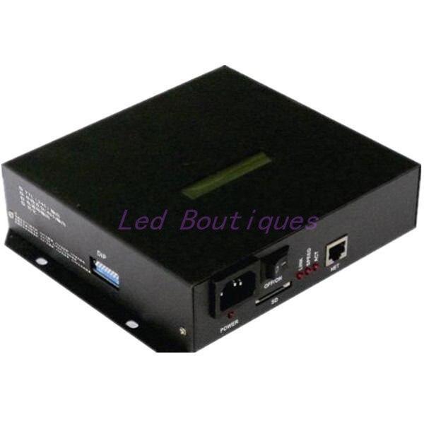 T-100K contrôleur de Pixels de sortie 8 Ports chaque Port prend en charge 512-1024 Pixels WS2812B