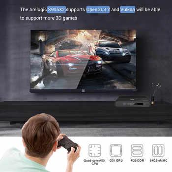 VONTAR A95X F2 4GB 32GB 64GB Smart TV Box Android 9.0 Amlogic S905X2 Support 1080p 4K Netflix youtube Set top box Media Player