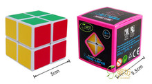 Magic Cube Professional 2x2 Neocube Matte Stickers Cubo Magico Puzzle Speed Classic Toys Learning Education P2(China)