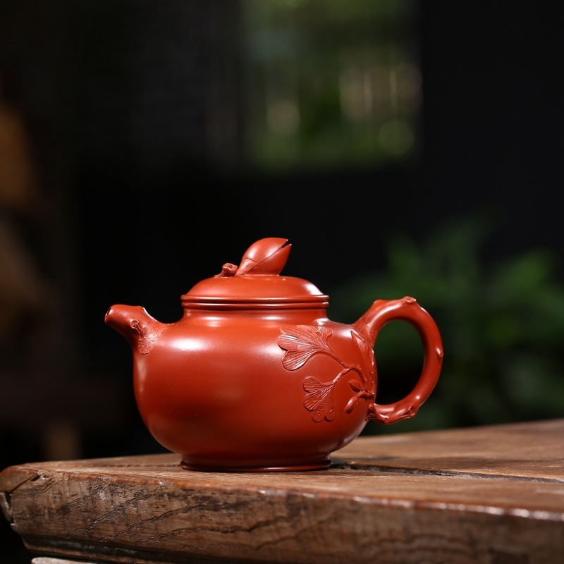 pure manual recommended yixing authentic quality dahongpao pistachios teapot certificate of full set of tea servicepure manual recommended yixing authentic quality dahongpao pistachios teapot certificate of full set of tea service