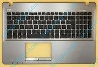UK US LA English Keyboard For ASUS X550 A550 Y581C K550V R510V F550V Top Cover Upper Case Palmrest Silver/Gray AMD