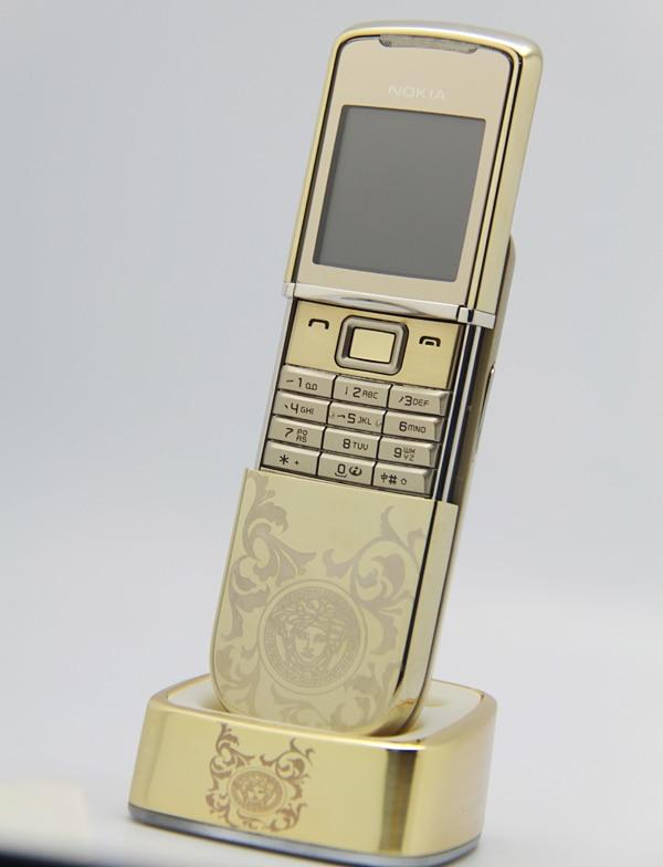 Цена за Оригинальный NOKIA 8800 Sirocco Mobile Сотовый Телефон GSM Открыл 8800D Специально Версия
