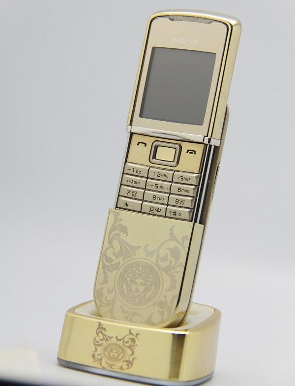 Original NOKIA 8800 Sirocco Mobile Cell Phone GSM Unlocked