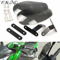 Universal motorcycle wind shield handle hand guard ABS transparent handguards FOR BMW R1200gs R1200GS F650 F700 F800 K1100