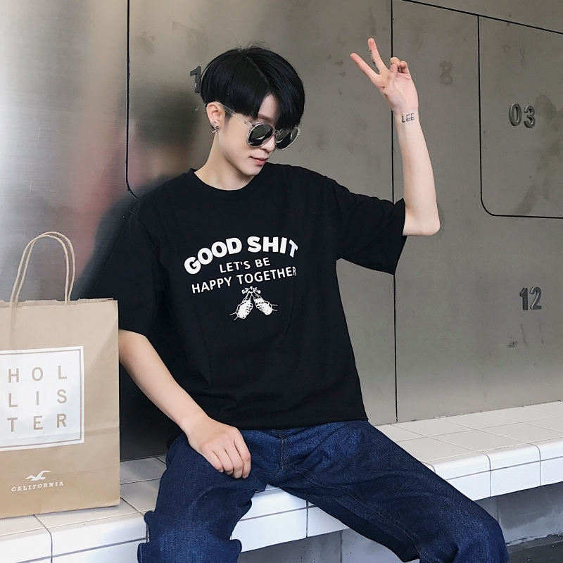 2018 GOOD The new listing Wind In Original Old Agitation Will Lovers Man Short Sleeve T Pity hip hop fashion Recommend Rushed