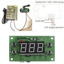 ЖК-дисплей AC/DC12V Цифровой термостат датчик температуры Регулятор