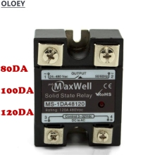 цена на 10PCS Single-phase DC-controlled AC solid-state relay SSR-80 100 120DA  /  MS-1DA4810 High-quality 480V