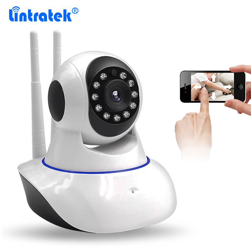 1MP Double Antenna Wireless CCTV Surveillance Security HD 720P IP Camera Baby Monitor with Pan/Tilt/Zoom Night Vision Monitoring 1mp wireless p2p double antenna cctv security camera hd 720p wifi ip camera baby monitor pan tilt two way audio ir night vision