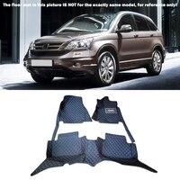 Interior Floor Mats Carpets Foot Pads A Set For Honda CR V CRV 2007 2011