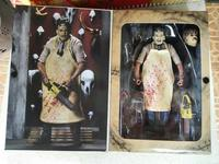 New NECA 40th Anniversary Ultimate Leatherface Classic Terror Movie The Texas Chainsaw Massacre 7 Action Figure