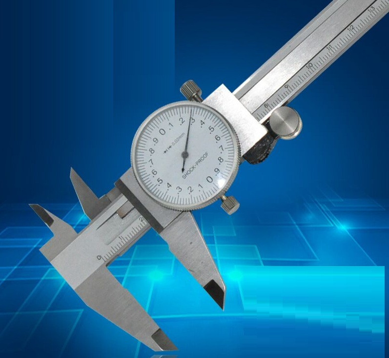 How To Use Vernier Caliper >> 0 200MM 250MM dial vernier calipers with watch slide gauge ...