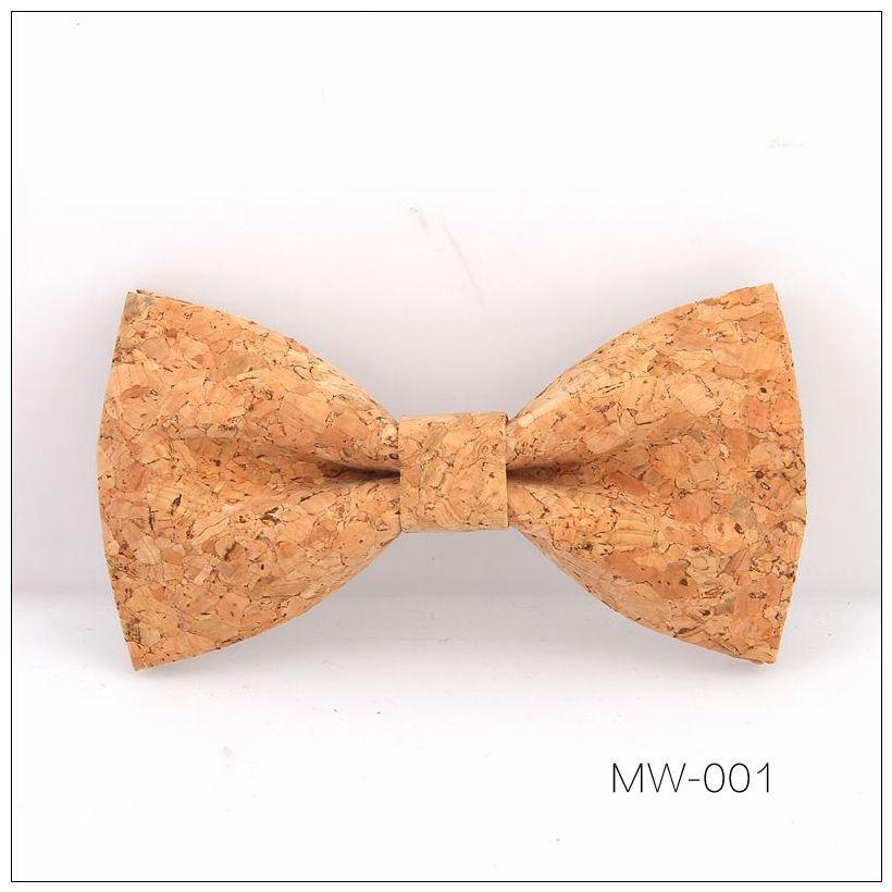New Handmade Wooden Cork Bamboo Bow Tie Bowtie Men's Cravat 39