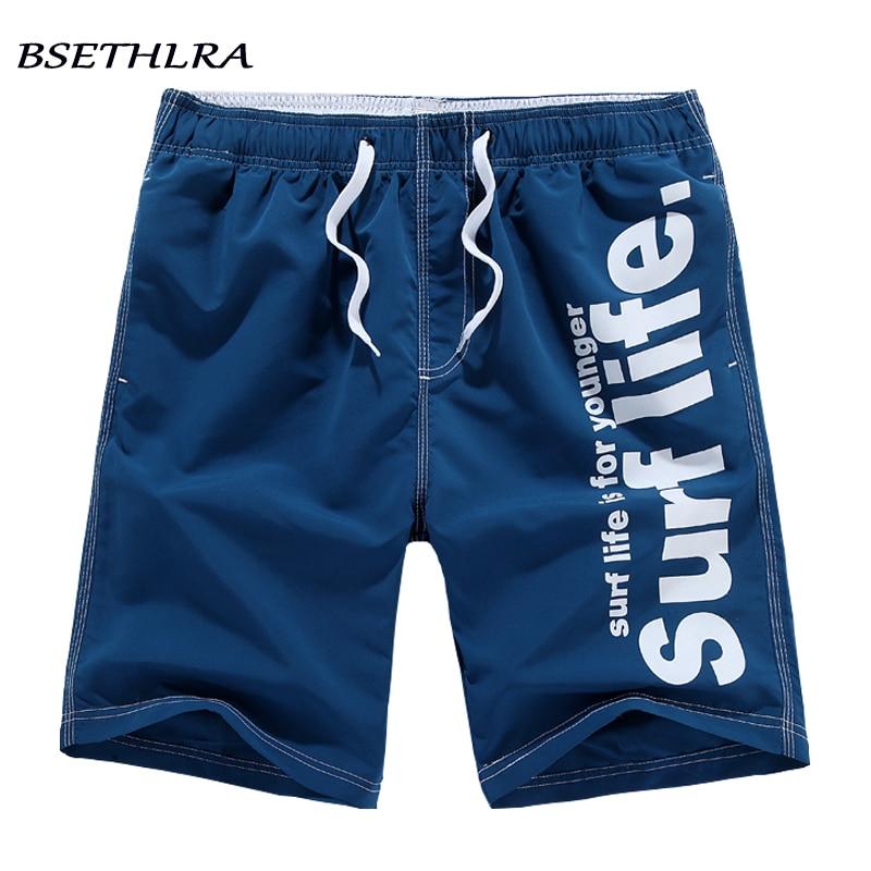 BSETHLRA 2019 nuevos pantalones cortos de los hombres de verano Venta caliente pantalones cortos de playa Homme estilo Casual suelto elástico de marca de moda de la ropa más ropa de tamaño 5XL