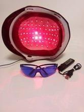 110v 240v 68 soft lasers scalp exerciser cap helmet glasses timer lllt therapy hair growth