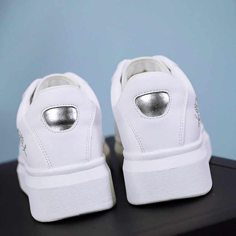 Mulheres de Skate Sapatos Sapatos de Desporto 2018 Tênis Atlético Ao Ar Livre Peso Leve Respirável Rendas Até Sapatos de Alta Qualidade Mulher