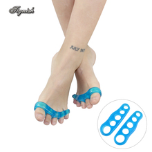 Tignish 1 Pair Toe Separator Thumb Orthopedic Braces För Korrigering Orthotics Daily Silicone Toe Big Bone 3 Storlek Valfri