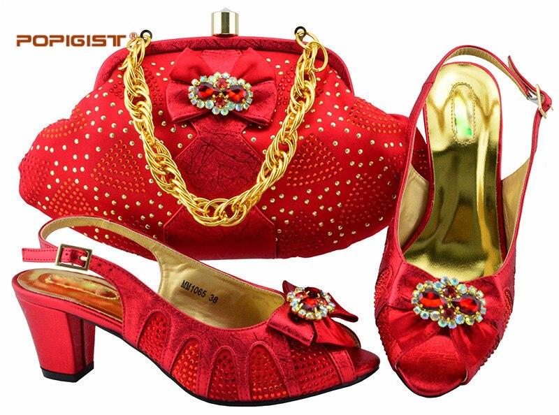 Cm Et Design Fête pink Mode Africains Chaussures Nigérian Vert silver Pour 6 De Pompes Correspondance La Gold Ensemble violet Femmes green red Italien Sac YSEwrEqFx