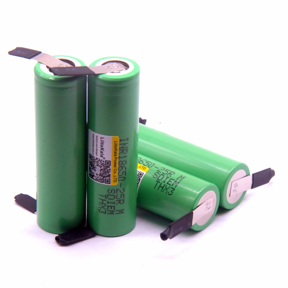 Image 2 - Liitokala original 18650 2500mAh Battery INR1865025RM 3.6 V Discharge 20A Dedicated Battery Power DIY Nickel-in Rechargeable Batteries from Consumer Electronics