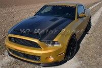 Car Accessories Carbon Fiber TruCarbon A53KR Style Ram Air Hood Bonnet Fit For 2010 2014 Mustang Shelby GT500&GT&V6