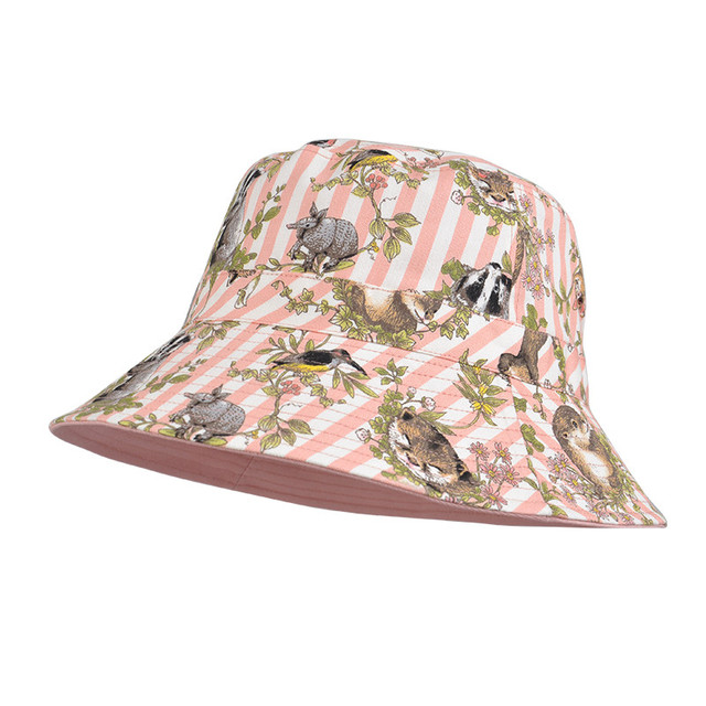 f4ead5f9e16 Kenmont Fashion Colorful UV Proof Casual Breathable Bucket Beach Cap Women  Summer Adjustable Comfort Cap Hat