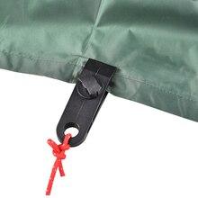 10 pièces pinces de bâche multi usages Camp randonnée Kit pinces coupe vent pour Camping auvents tentes toile poignée serrer loutil