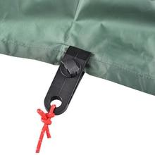 10 sztuk Tarp klipy wielofunkcyjny obóz Hike Kit wiatroszczelne zaciski na Camping zadaszenia namioty płótnie Grip dokręcić narzędzie