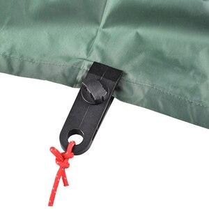 Image 1 - 10 قطعة قماش القنب كليب متعددة الأغراض مخيم تنزه عدة يندبروف المشابك للتخييم الستائر الخيام قماش قبضة تشديد أداة