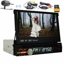 1DIN 8 ГБ GPS аудио стерео один 1DIN автомобиля Радио цифровой сенсорный Процессор головного устройства fm am rds приемник сабвуфер AUX dvd-плеер