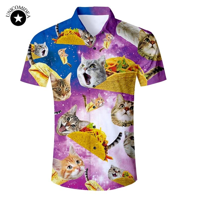 tee Cat Shirt Hawaii Hula Dancer Kitty Cute Unisex Sweatshirt