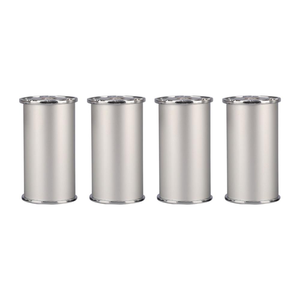 80x50MM Height Adjustable Silver Aluminum Alloy Legs Furniture Feet Cabinet Table Legs цены онлайн