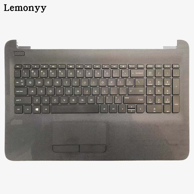 US Laptop keyboard For HP TPN-C125 TPN-C126 HQ-TRE RTL8723BE with black palmrest Upper cover With touchpadUS Laptop keyboard For HP TPN-C125 TPN-C126 HQ-TRE RTL8723BE with black palmrest Upper cover With touchpad