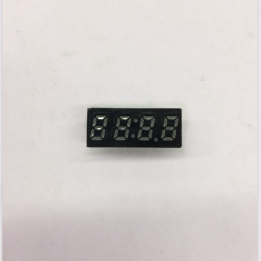Common Anode/ Common Cathode 0.25 Inch Digital Tube Clock 4 Bits Digital Tube Led Display 0.25inches Red Digital Tube Red