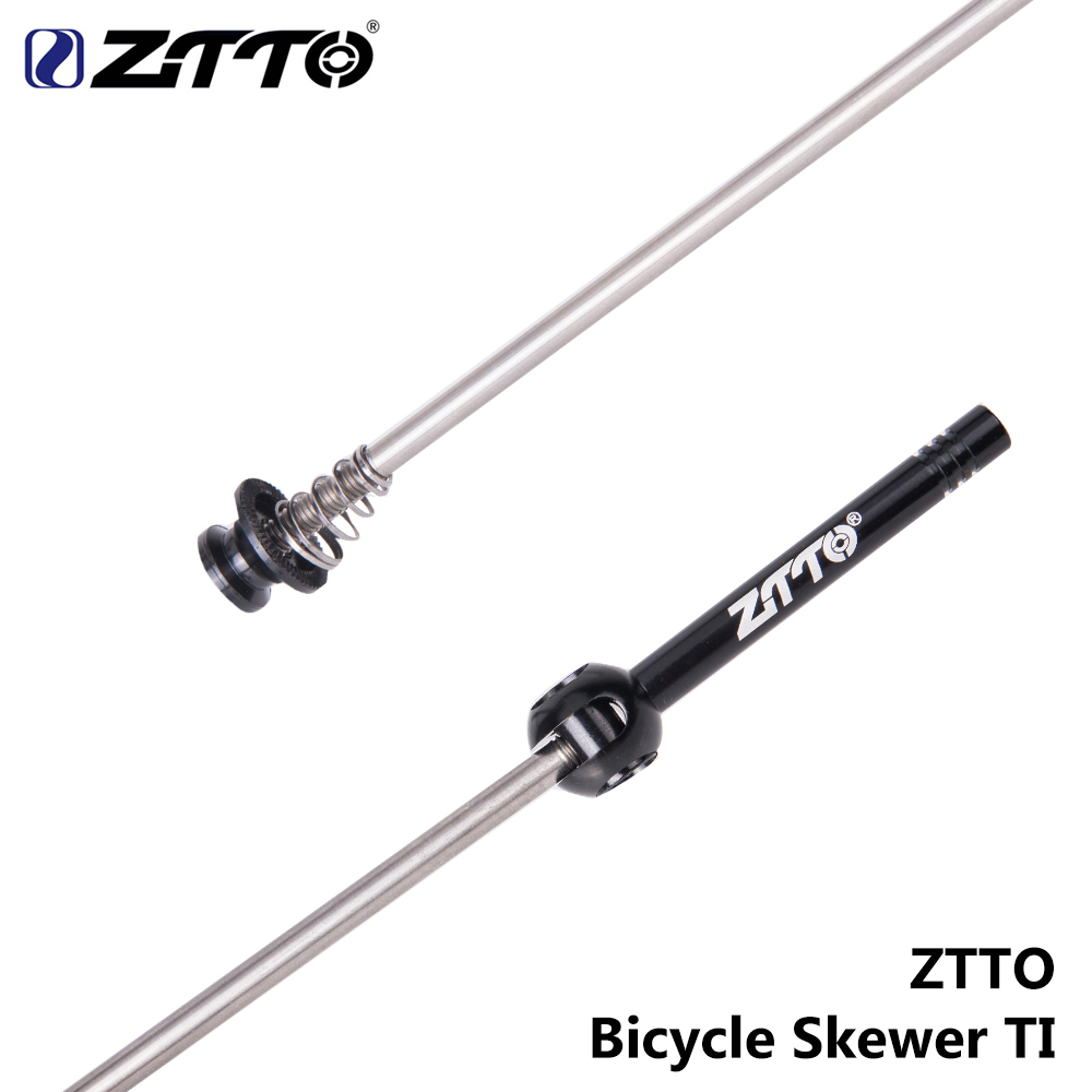 ZTTO-Bicycle-Accessory-MTB-Road-Bike-QR-Ti-Skewers-Ultralight-9MM-5MM-Quick-Release-100-135