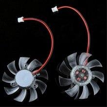 5PCS PC Laptop CPU VGA Video Card 55mm Cooler Cooling Fan Heatsink 55mm 2Pin PC VGA Graphics Video Card Heatsink Cooler  все цены