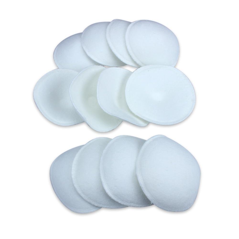 6 X Breast Feeding Baby Nursing Pads Soft Reusable Washable Maternity Breast Feeding Breast Pads Cotton