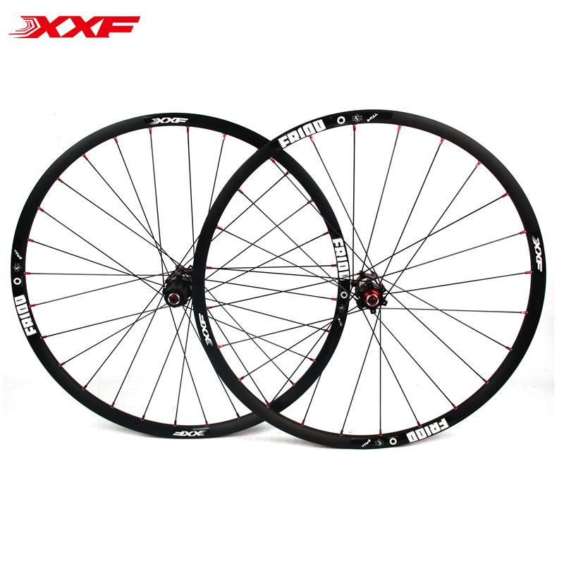 On sale 26Inch Mtb Mountain Wheel set 4 sealed Bearing Aluminum Alloy Wheelsets 28holes wheel Rims from Taiwan Bike parts