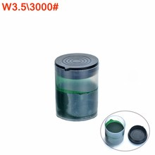 New Arrival Granularity w3.53000# Wool Grinding Paste Tool bottle size 27*36mm green grinding polishing Paste for wool