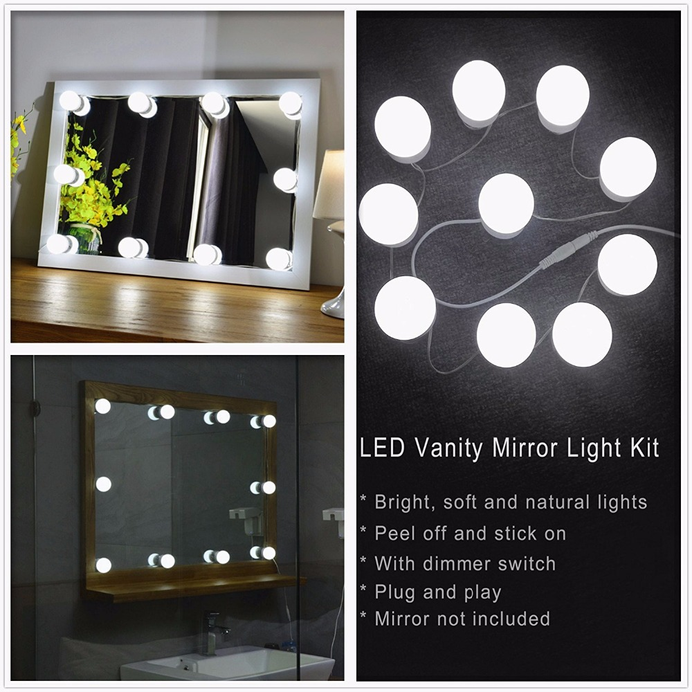 Waneway Hollywood Diy Vanity Lights Strip Kit For Lighted
