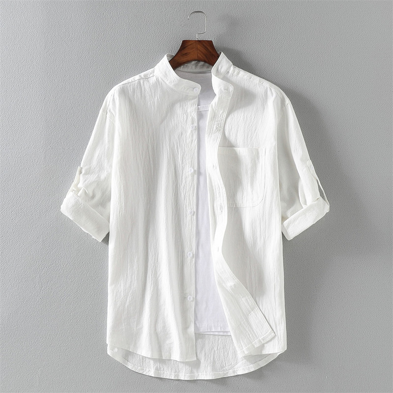 Wxian Mens Casual Short Sleeves Button-Down Shirts