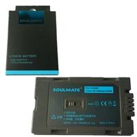 SOULMATE CGR D320 CGR D28S lithium batteries pack CGR D28S Digital Camera Battery D28S For PANASONIC AG DVC15 NVDA1B NV DA1B