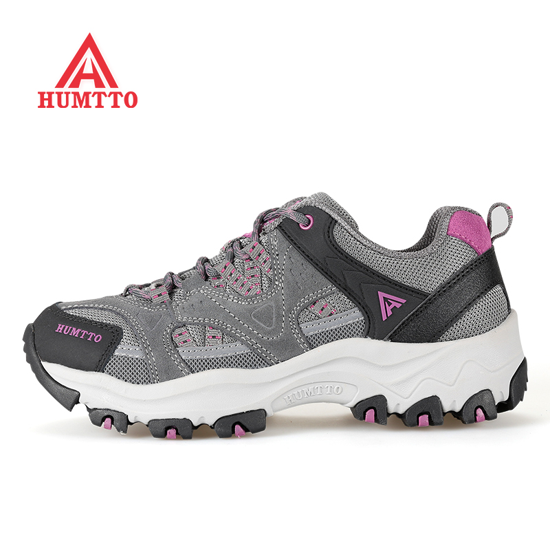 HUMTTO Kvinners Kvinne Vår Utendørs Vandring Trekking Trail Sko Sneakers For Women Sport Klatring Mountain Sneakers Shoes Woman