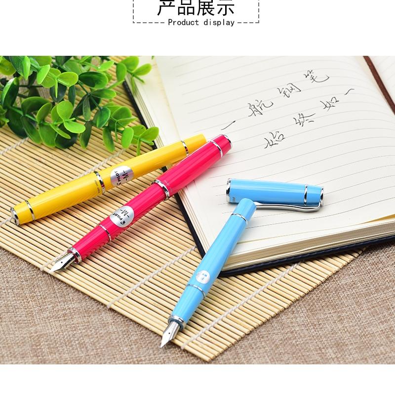 9 Colors Pilot Prera FPR-3SR Fountain Pen F /M Tip Calligraphy Pen Writing Supplies School & Office Pen