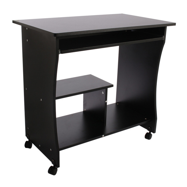 Computer Pc Desk Wood Laptop Table Workstation Modern Student Home Decor Coffee Tables Office Corner Furniture