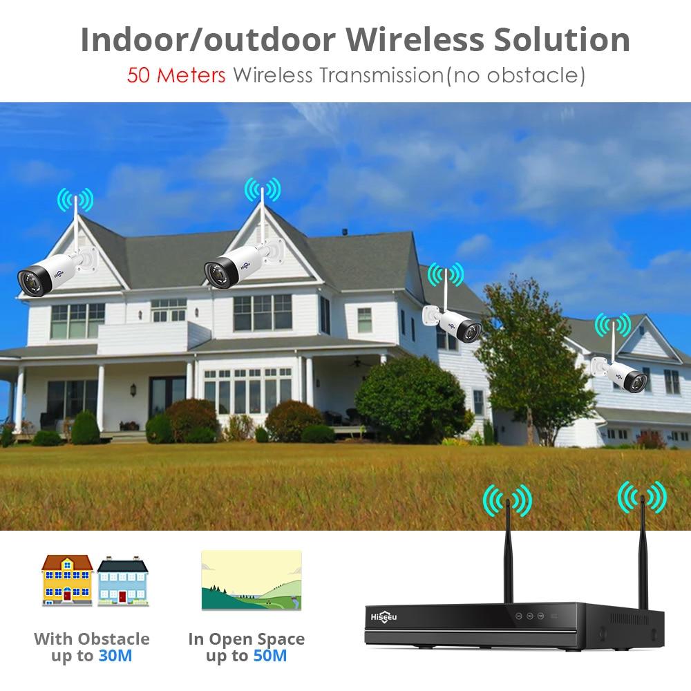 H.265 2MP 8CH bežični audio CCTV sigurnosni sustav vanjske IP - Sigurnost i zaštita - Foto 4