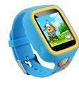 "1.33 ""q5 gps smart watch garoto assista mtk6261 2.5d completo anti-perdida smartwatch kid sos emergência com smartphone app para android/ios"